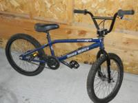 For sale is my Haro X3 Back Trail that's basically