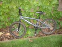 "20"" BMX bike in good condition , rides great Call  Cash"