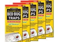 Bed Bug Traps Value Pack has 10 traps. Traps provide