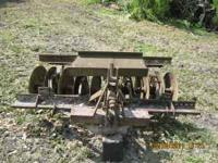 3 POINT HITCH SINGLE GANG HARROW 5 FOOT. PH:  Location: