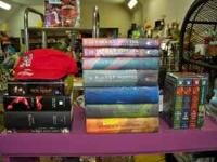 Whole set of Harry Potter books 1-7 for $50 Lord of The