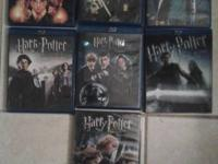 I have almost the complete set of the harry potter