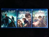 I have 3 Harry Potter blu-ray motion pictures for sale