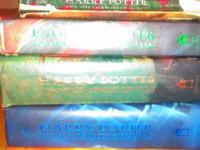 I have six harry Potter books 1,2,3,4,5&7 I'm selling