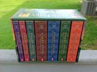 Up for sale is the entire Harry Potter Book Collection