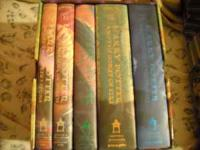 I have Hardcover Collector's Harry Potter books 1-5