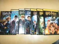 Harry Potter DVD set: The set includes films; The