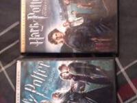 Harry Potter Half-Blood Prince and Goblet of fire for