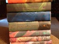 I am selling 7 Harry Potter Hardback Books that are in