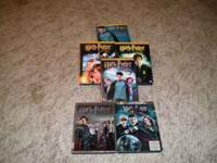 I have 5 of the Harry Potter Movies up for sale. 1-3 is