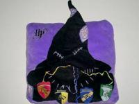 Harry Potter Sorting Hat Pillow  It's a purple pillow