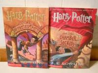 Harry potter paper back books. The chamber of secrets,
