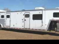 2005 Hart 4 Horse Trailer with 12' Short Wall Outlaw