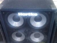 Hartke 410 XL Series Cabinet  Dual-Chamber, Dual-Ported