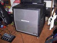 Hartke 4x12 guitar speaker cabinet adjustable 4-16