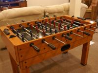 "Harvard foosball table 54"" x 28 3/4 "".  Foosball top"