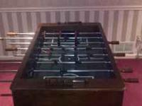 Harvard solid hardwood foosball table, $800 new, great