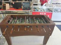 Hello you are looking at a Harvard Foosball Table. It's