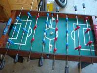 Harvard Foosball Table with balls Very good Shape