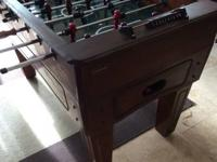 Solid Wood Harvard brand Foosball Table Brand new