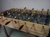 Nice Harvard Multi-Game Table, includes Foosball, Table