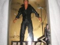 Hasbro Elvis Presley '68 Special Elvis Doll NRFB COA