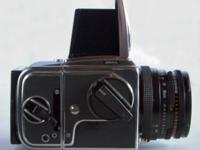 Hasselblad 503 cx Outfit. Experience the legendary