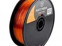 1.75 MM 1KG Transparent - HATCHBOX PLA 3D Printer