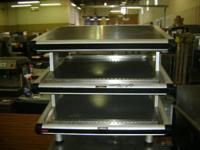 Up for sale is a Hatco slant display food warmer. this