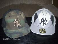 hats new era 5950--2 NY yankeys new size 7&3/8 fitted