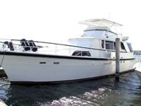 Owner has his eye on a 70-hatteras. Being a fresh water