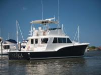 This Hatteras Convertible is turn-key condition and is