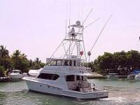 Nicest 70 On The Market. Superb Hatteras 70 Convertible