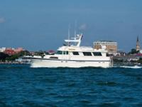 This 1985 Hatteras Pilot House Motor Yacht (wide body)