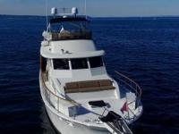 """Galaman,""this Hatteras 58 Yacht Fisherman is one of"