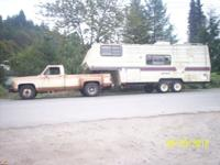 I am setup to haul 5th Wheels, Bumper Pull trailers,