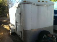 2005 Haulmark. Gross weight 2930. Single axle. DBL rear