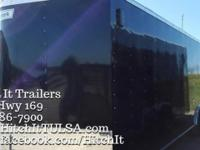 8.5 x 20' ENCLOSED Haulmark CAR HAULER TRAILER 5200#