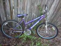i have these 2 mountian bikes for sale all they need is
