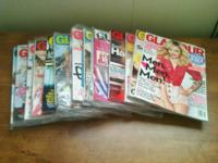 Over 70 Magazines in all:.  (13) GLAMOUR, October 2012