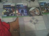 bundle of games for sale plus one  wii  game  and a
