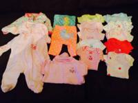 Infant lady clothing newborn, 0-3 months, and 18 and 24