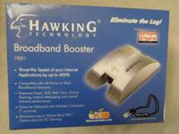 Hawking Broadband Booster HBB1 Rarely used and like