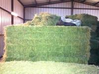 I have 23 Alfalfa Bales for sale 3X3X8 each weighs