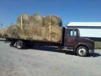 We have some good heavy 4x5 bermuda mix round bales for