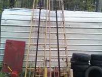 1- 16 ft hay Conveyors no motors 1-15ft (I think) In