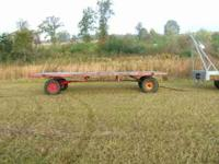 I have 2 Hay Farm Trailers for Sale (1) 8x20 for