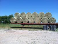 Rye & Bermuda Round bales ....4x5 1/2. heavily