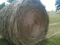 Mixed grass round bales for sale. Approx 1200 to 1500
