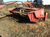 Hesston 1010 Hydroswing mower conditioner. This is an